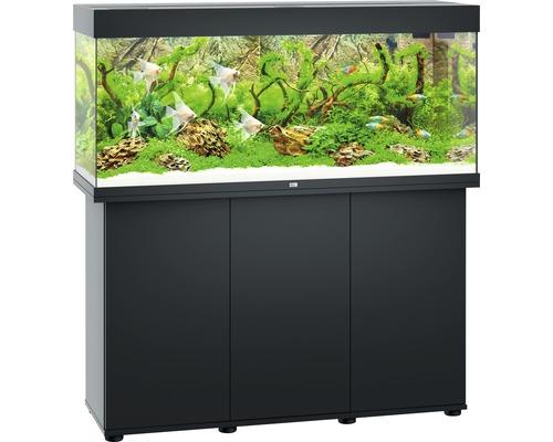 Kit complet d''aquarium Juwel Rio 240 LED SBX avec sous-meuble noir