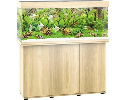 Kit complet d''aquarium Juwel Rio 240 LED SBX avec sous-meuble bois clair