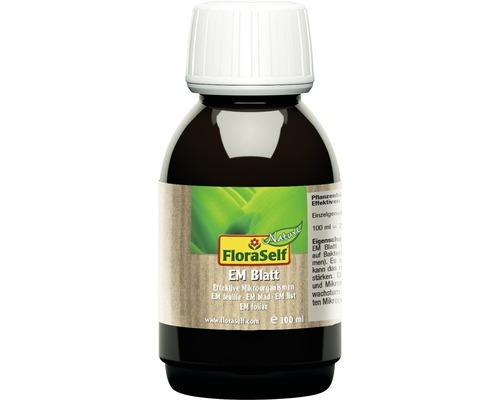 Produit de renforcement des plantes FloraSelf Nature microorganismes efficaces EM Blatt 100ml