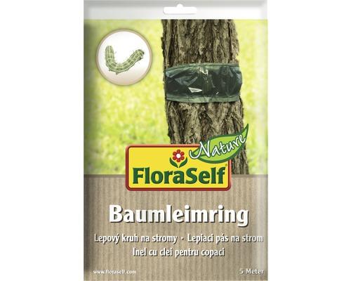 Anneau adhésif FloraSelf Nature pour arbre contre les chenilles et les fourmis 5m