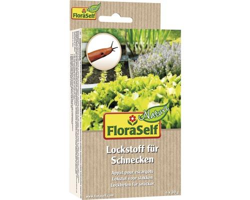 Appât FloraSelf Nature contre les limaces pour piège multifonctionnel 4x30g