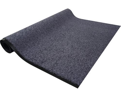 Paillasson anti-salissures Proper Tex uni bleu-gris 200cm de large (marchandise au mètre)