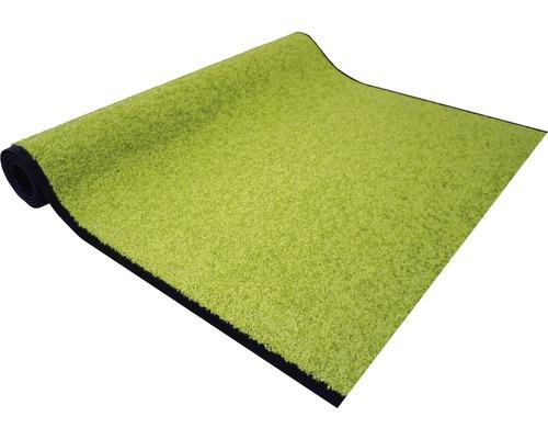 Tapis anti-salissures Proper Tex uni vert largeur 200cm (marchandise au mètre)