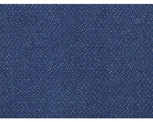 Teppichboden Velours Bristol dunkelblau 400 cm breit (Meterware)