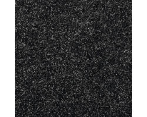 Teppichboden Nadelfilz Oxford schwarz 400 cm breit (Meterware)