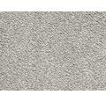 Teppichboden Luxus Shag Romantica silbergrau 400 cm breit (Meterware)