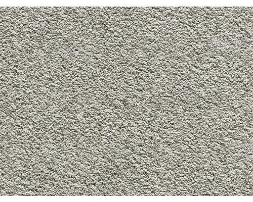 Teppichboden Luxus Shag Romantica hellgrau 400 cm breit (Meterware)