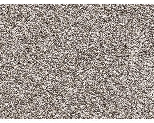 Teppichboden Luxus Shag Romantica dunkelbeige 400 cm breit (Meterware)