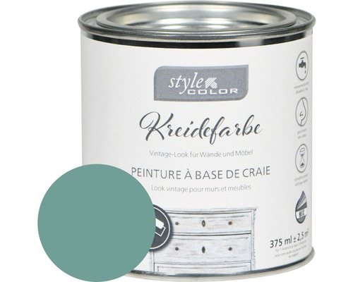 Kreidefarbe Möbelfarbe StyleColor cottage green 375 ml