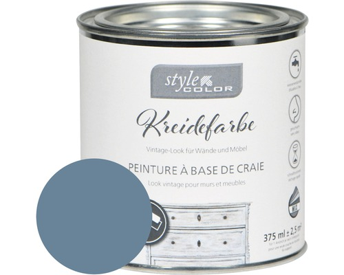 Kreidefarbe Möbelfarbe StyleColor blue jeans 375 ml