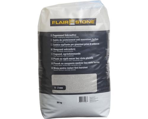Sable de jointoiement anti-mauvaises herbes Flairstone gris basalte 20 kg