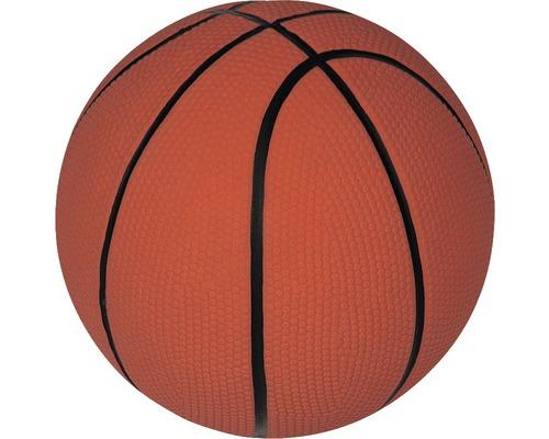 Jouet pour chien Karlie ballon de basket en latex rempli avec couineur 13 cm