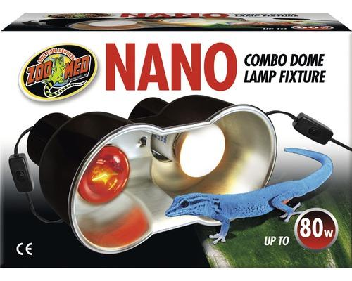 Douille d''ampoule Zoo Med Nano Combo Dome Lamp Fixture