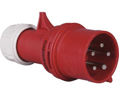 Inverseur de phase CEE PCE 32A IP44 5 pôles rouge