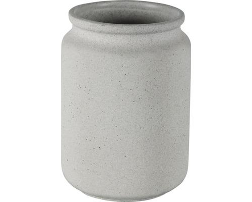 Gobelet pour brosses à dents Spirella Cement gris