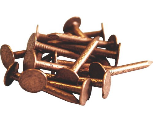 Kupfer Pappstifte gerauht 2,8x25 mm