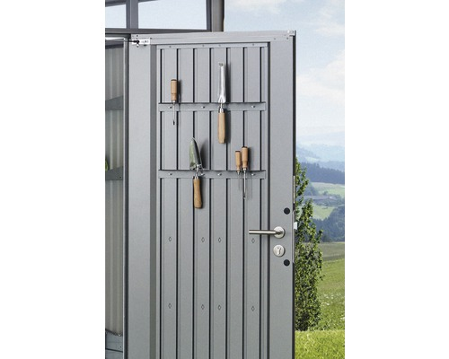 Porte-outils biohort pour porte AvantGarde, gris quartz