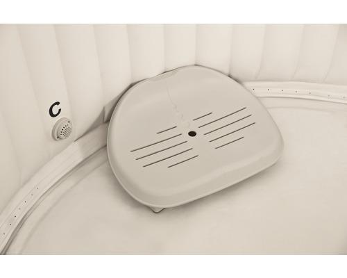 Kunststoffsitz Intex für aufblasbaren Whilpool Pure Spa beige höhenverstellbar