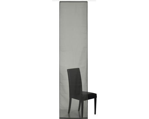Schiebegardine Feel Good Uni grau 60x245 cm