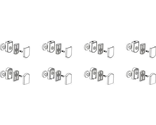 Kit de roulettes Form&Style pour 5960740 + 5960742