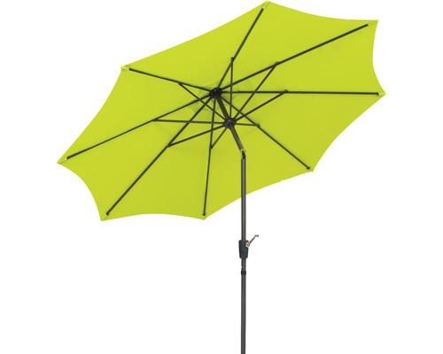Parasol Schneider 270x270x260cm Harlem polyester 180g/m² vert