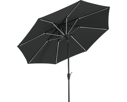 Parasol Schneider Orlando Ø 270 H 238 cm polyester 180 g/m² anthracite