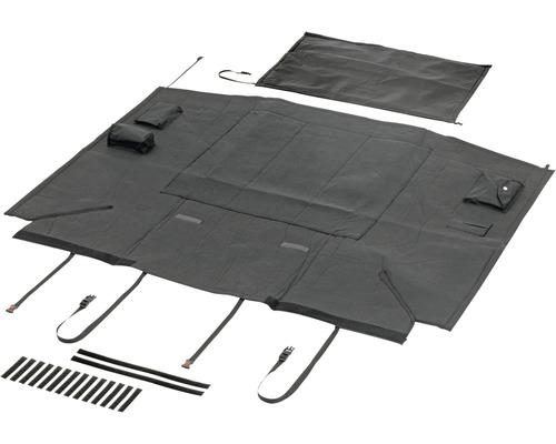 Couverture de protection pour voiture Karlie Car Safe Deluxe 165 x 126 cm, noire