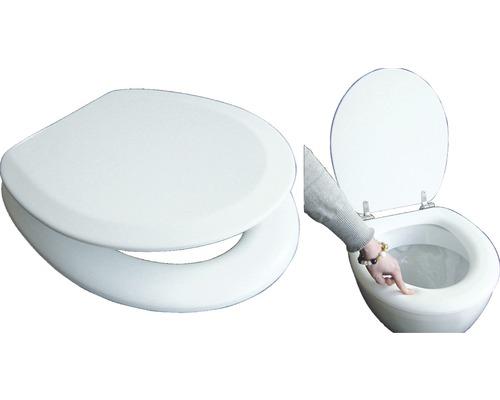 WC-Sitz ADOB Premium Soft weiß gepolstert