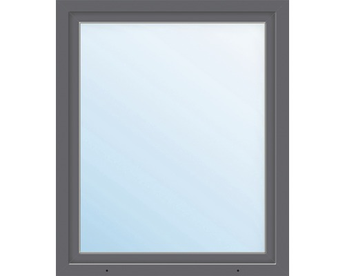Fenêtre en PVC ARON Basic blanc/anthracite 1150x1400 mm tirant gauche
