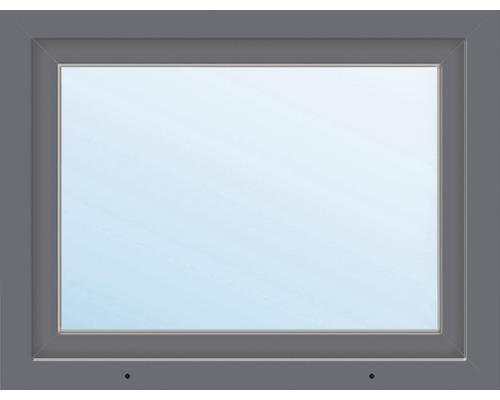 Fenêtre en PVC ARON Basic blanc/anthracite 950x600 mm tirant gauche