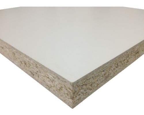 Fixmaß Spanplatte weiß 1200x600x10 mm