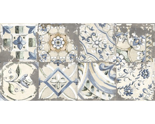 Carrelages décoratifs en grès cérame fin Metropolitan S gris 30x60cm mélange
