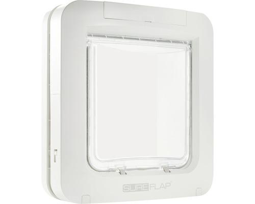 Trappe pour animaux domestiques SureFlap à micropuce 262x281mm blanc