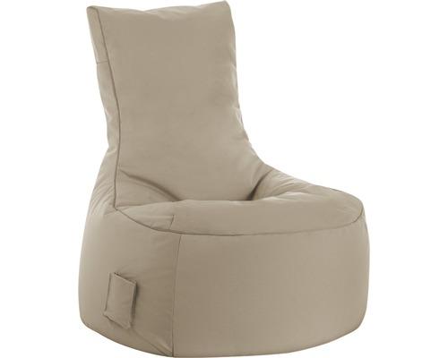 Pouf coussin Sitting Point fauteuil Swing Scuba kaki 95x65x90 cm
