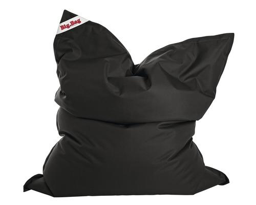 Pouf coussin Sitting Point Bigbag Brava noir 170x130x20 cm