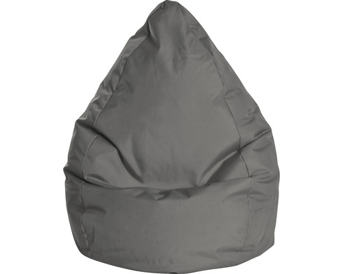 Pouf coussin Sitting Point Beanbag Brava L anthracite 70x90 cm