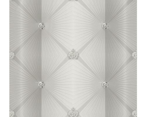 Papier peint intissé 54841 Glööckler Imperial Graphique grège