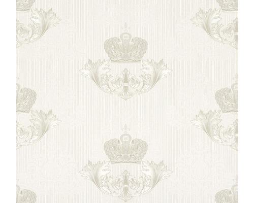 Papier peint intissé 54857 Glööckler Imperial Couronne pearl