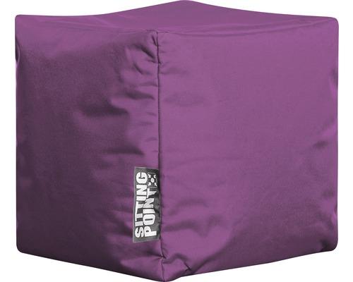 Tabouret Sitting Point Cube Scuba violet 40x40x40 cm