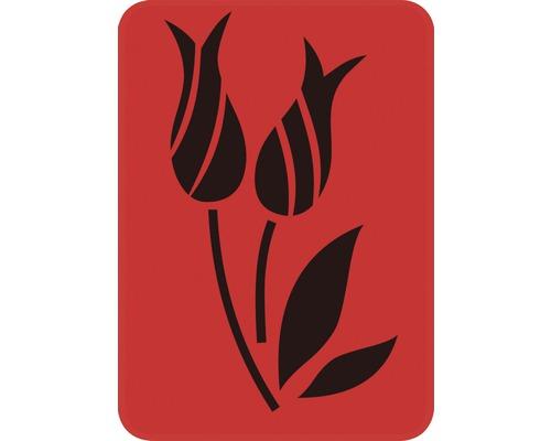 Pochoir DM-123 tulipe 14,5 x 20,5 cm