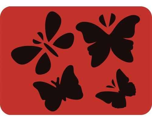 Pochoir papillon 14,5 x 20,5 cm