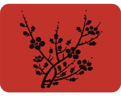Pochoir fleurs de cerisier 56 x 43 cm