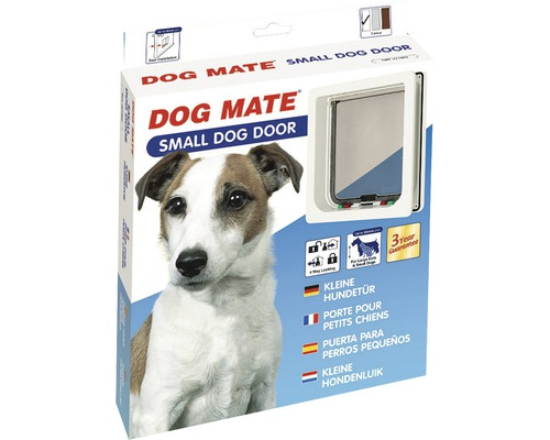 Porte pour chiens Dog Mate blanche small