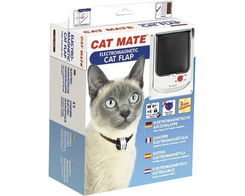 Chatière Cat Mate électromagnétique 168 x 219 mm, blanche