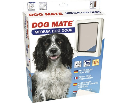 Porte pour chiens Dog Mate blanche medium