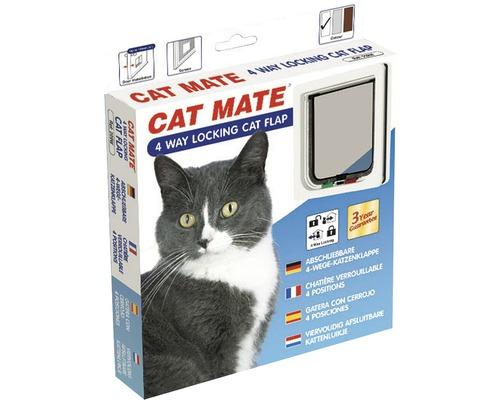 Chatière Cat Mate 4 voies 165 x 174 mm, blanche