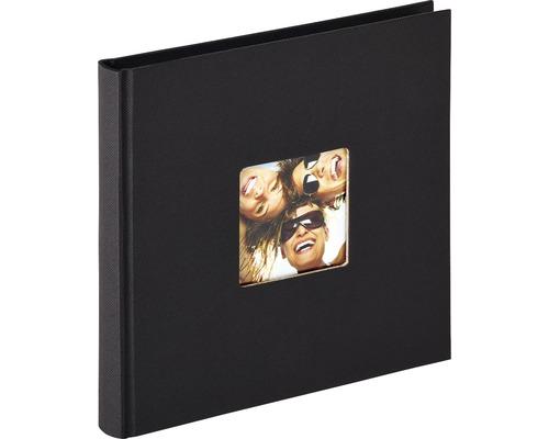Album photos Fun noir 18x18 cm