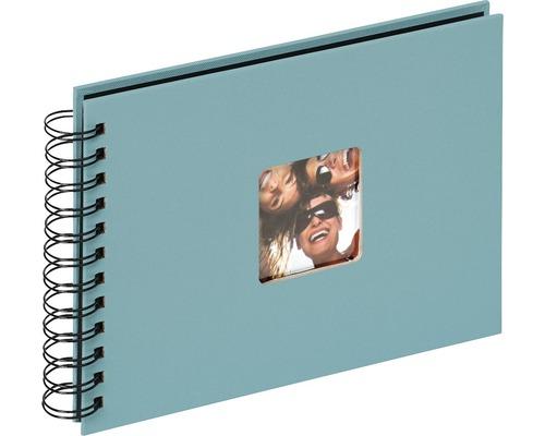 Album à spirale Fun vert pétrole 23x17 cm