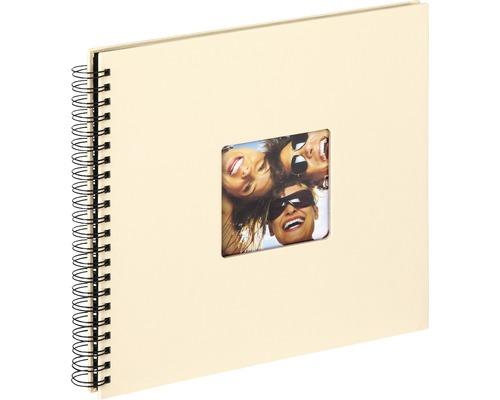 Album à spirale Fun crème 30x30 cm