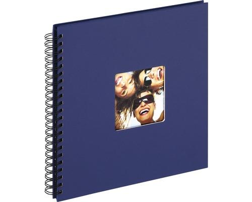 Album à spirale Fun bleu 30x30 cm